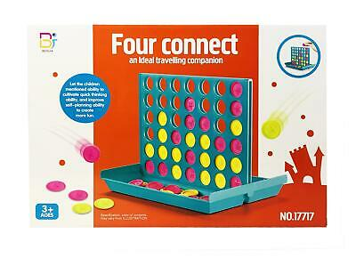 Connect 4 In A Row Four In A Line Board Game Classic Christmas Game Set
