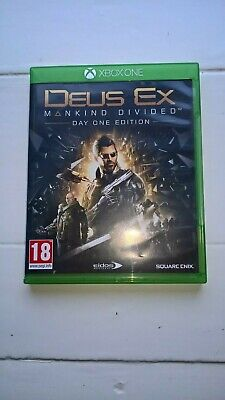 Deus Ex Mankind Divided (Xbox One) Free post