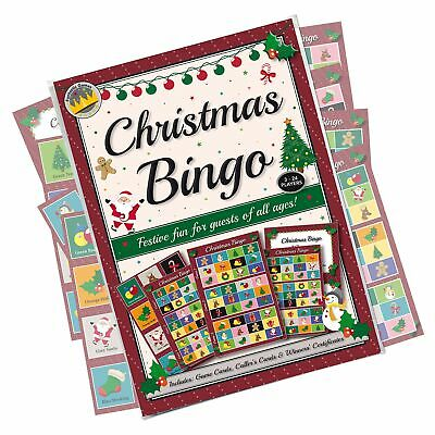 Christmas Party Bingo Game: Fun & Games For Family, Office And Kids Xmas Part...