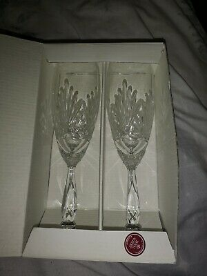 Royal Albert Champagne Flutes Perfect For Wedding Gift