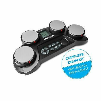 Alesis CompactKit 4 - Christmas Gift Essential - Tabletop Electric Drum Set w...