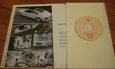 Brochure Prospekt Dépliant Press Kit Dossier 2008 MAYBACH LANDAULET English