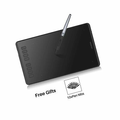 Huion Inspiroy H950P Graphic Drawing Tablet 8 Customizable Express Keys with ...