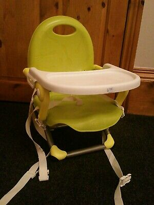 Chicco Pocket Snack Booster Seat Lime Green