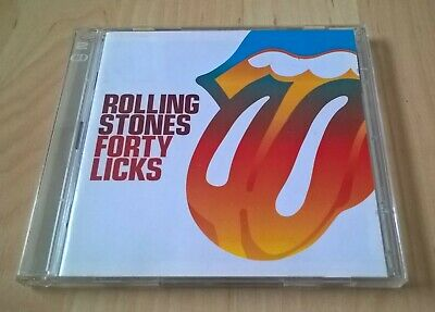 ROLLING STONES - FORTY LICKS - 2CD (EX. cond.)