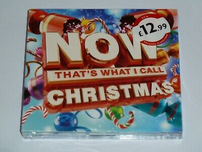 Now That's What I Call Christmas Uk Cd Album, New & Sealed (2015)