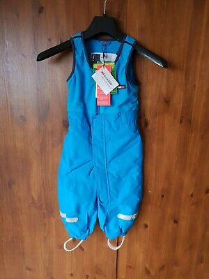 RRP £65 - LEGO WEAR TEC SKI PANTS Boys Blue 100% Waterproof 12-18 Months - NEW