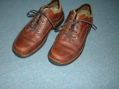 TIMBERLAND 79514 MEN'S Brown leather Lace Up Oxford Shoes