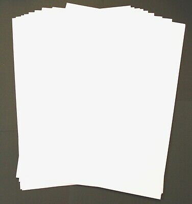 BRAND NEW - 12 Sheets A4 Craft White Watercolour Paper 300gsm