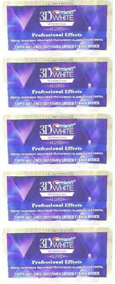 Crest 3D White LUXE Whitestrips Professional 5 pouch 10 strips