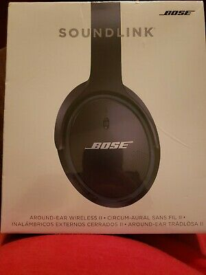 Never opened ... Bose Soundlink Around-Ear Wireless Headphones II - Black