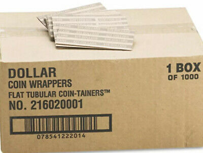 1,000 Coin Wrappers For Pres. Dollars, Sacagawea Dollar  & Susan B. Anthony