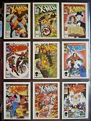 1990 Comic Images *X-Men Covers Series Ii* Complete 45 Card Set