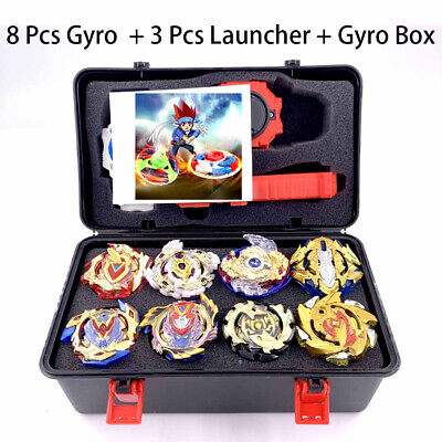 Beyblade Burst Gold Series with Launchers Fusion Toupie Spinning Metal Top Toy