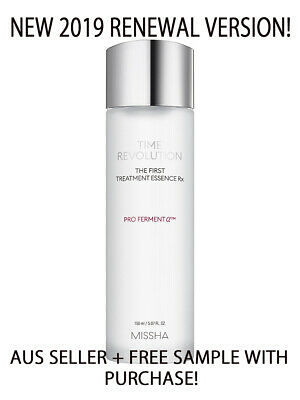 Missha Time Revolution The First Treatment Essence Rx [AUS Seller+Free Sample]