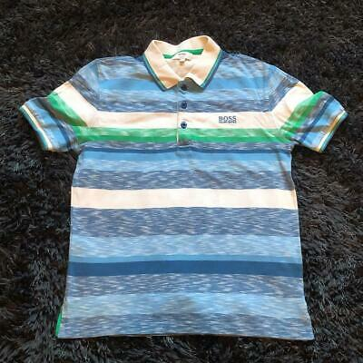 GENUINE - Boys Blue Hugo Boss Polo T Shirt Top - Size 10 Years