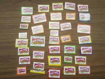 36 Box Tops for Education - NO EXPIRED Tops March 2020 to 2022