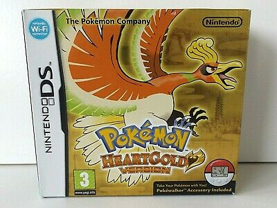 Nintendo DS - Pokemon Heartgold - Genuine Big Box Only - No Game or Pokewalker