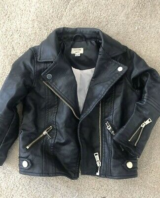 Girl 12-18 Months River Island Leather Jacket