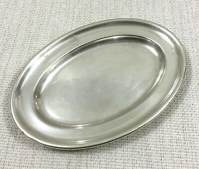 Silver Plated Dish Small Tray Furness Bermuda Line Shipping Company Ocean Liner