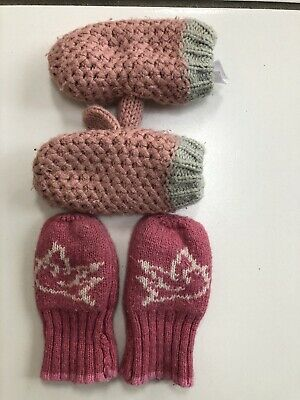 Monsoon & Baby Boden Baby Girl Winter Mittens