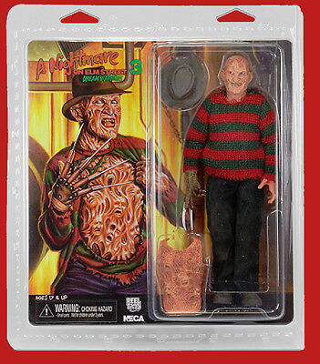 """NECA Nightmare on Elm Street Clothed 8"""" Dream Warriors Freddy Action Figure"""