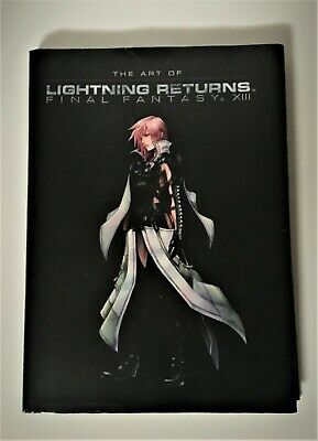 Final Fantasy 13 The Art of Lightning Returns Art Book RARE