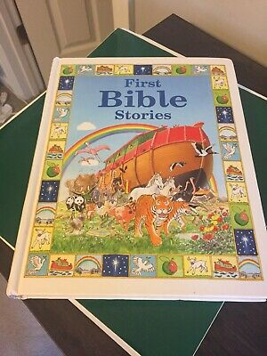 First Bible Stories Large Hardcover Book By John Dillow Copyright 2001