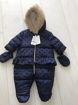 Mothercare All In One Baby Snow Suit  1 Month