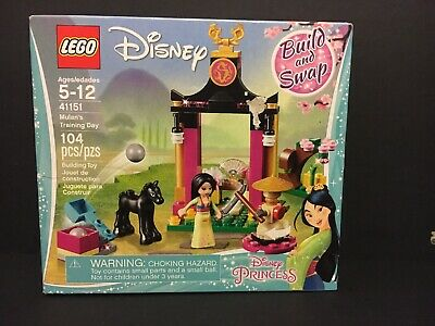 Lego 41151 Disney Princess Mulan/'s Training Day with Horse Brand New Sealed