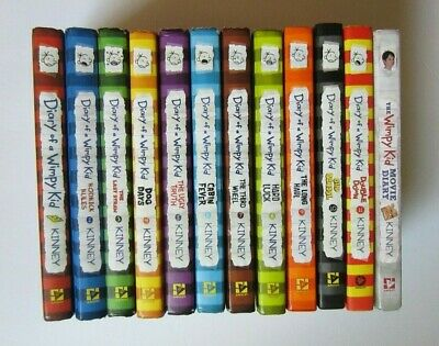 DIARY OF A WIMPY KID - BIG LOT - Hardcover - Excellent Shape