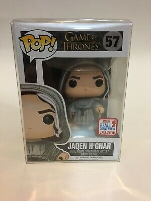 Funko POP! Game of Thrones Jaqen H'Ghar 57 2017 Fall Convention Shared Exclusive