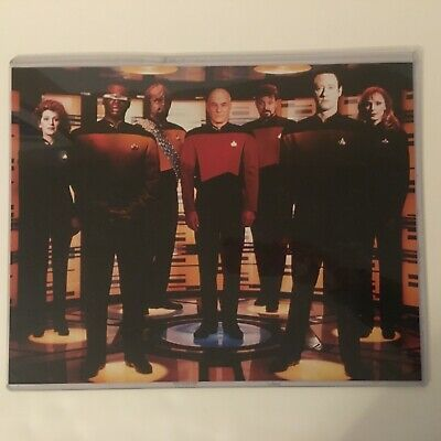 Star Trek The Next Generation Group TV Show Poster/Picture Laminated 11x14 inch