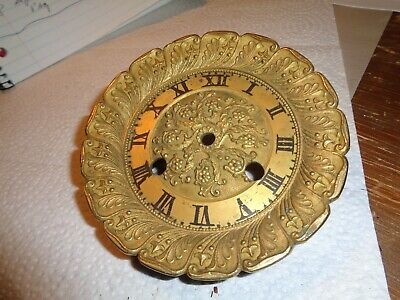 Antique-French-Bronze- Clock Dial & bezel- Ca.1850-To Restore-#K162A