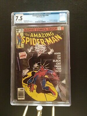 Amazing Spider-Man #194  CGC 7.5 Key Issue!  First Black Cat!