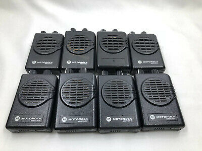 Lot Of (8) Motorola Minitor V (5) 151-158.9975MHz | Working Condition