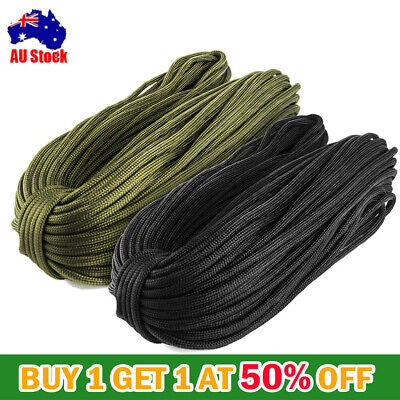 7 Strand Cord 250FT 550 Paracord Parachute Cord Lanyard Mil Spec Type III RR