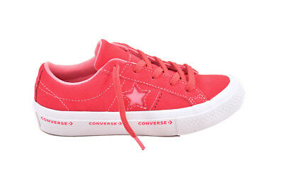 Converse Youth One Star OX 359815 Shoes Red Size UK 13 RRP £58 BCF87
