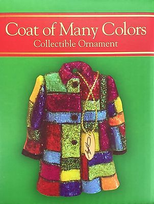 NIB Dollywood Exclusive Dolly Parton Coat of Many Colors Christmas Ornament