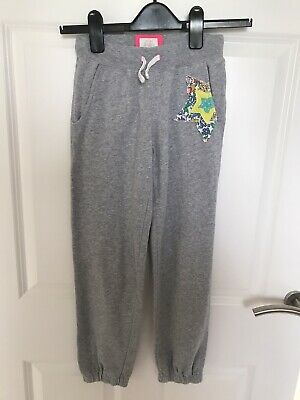 Mini Boden Girls Grey Jogging Pants Bottoms Age 9