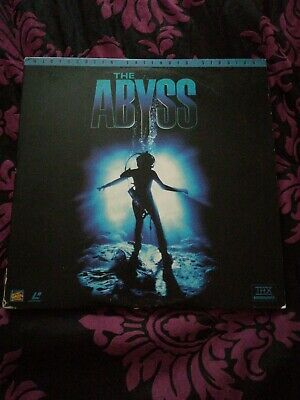 The Abyss: Extended Version (1996) AC3 NTSC Laserdisc 0896885 2 disc extended