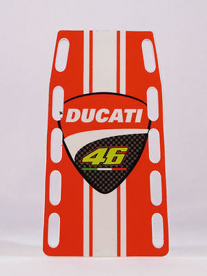 """1//12 VALENTINO ROSSI PIT BOARDS BANNER STAND BOX /""""LORENZO OUT/"""" MISANO 2015 NEW"""