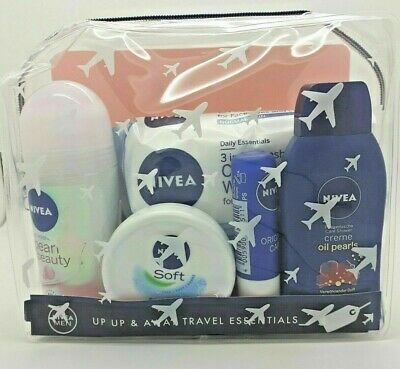 Nivea Up Up & Away Travel Essentials Female - Travel Size Gift Set