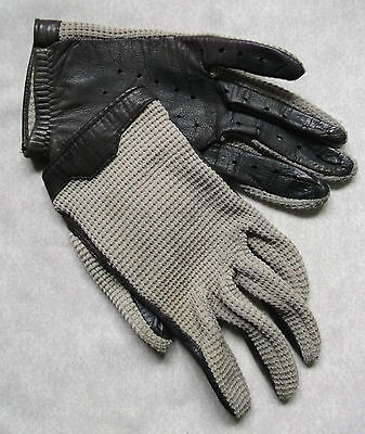 Gloves WOMENS Vintage Retro 1970s REAL LEATHER