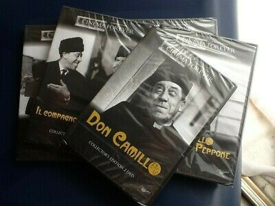DON CAMILLO COLLEZIONE COMPLETA - 5 films - 7 dvd (2 Collector's edition)