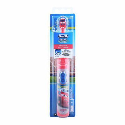 Oral-B Stages Power Childrens Disney CARS Electric Toothbrush, Disney Magic Time