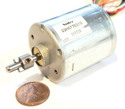 Nidec 22H Brushless Motor - 24V DC - 3 Phase 12 Pole - 5000RPM, Hall Effect BLDC