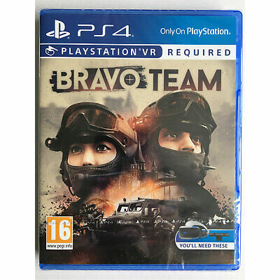 Bravo Team VR (PS4) UK STOCK - New and Sealed - PS Playstation VR Required