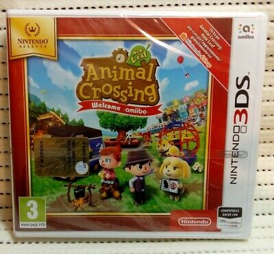 Animal Crossing New Leaf Welcome Amiibo Nintendo 3DS 3ds