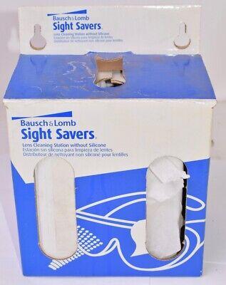 Bausch & Lomb Sight Savers Non-Silicone Lens Cleaning Station - Open Packaging